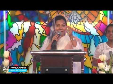 powerful word on Restoration by Padma Mudaliar aunty|Canaan Church Sunday Tamil Service | 22-10-2017