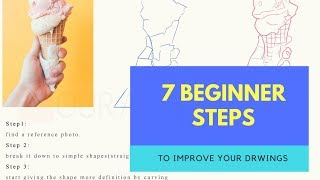 How To Art-7 Beginner Steps To Improve Your Drawings