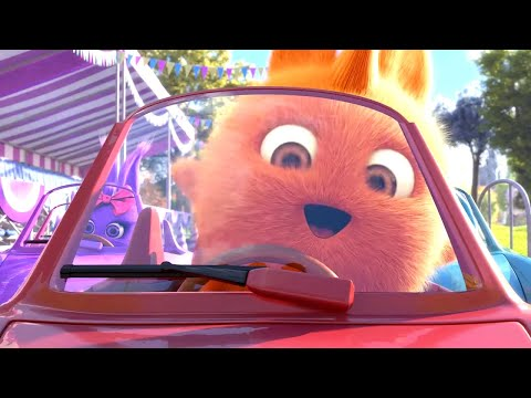 Sunny Bunnies   Bunny Car Race   COMPILATION   Videos For Kids   WildBrain