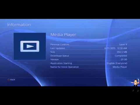 Playstation 4 Media Player(Review)DLNA support