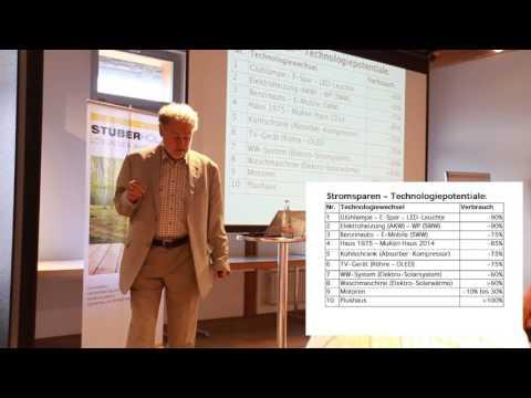 Informationsanlass Photovoltaik – Energie sparen und selber produzieren