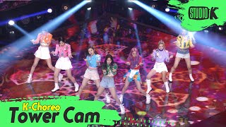[K-Choreo Tower Cam 4K] 트라이비 직캠 '러버덤(RUB-A-DUM)' (TRI.BE Choreography) l @MusicBank KBS 210604