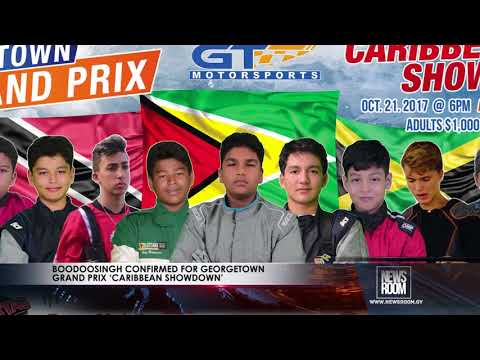 BOODOOSINGH CONFIRMED FOR GEORGETOWN GRAND PRIX 'CARIBBEAN SHOWDOWN'