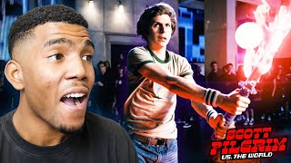 WATCHING SCOTT PILGRIM VS. THE WORLD FOR THE FIRST TIME! (Movie Reaction)