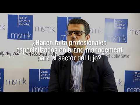 Brand Management en el lujo - Gonzalo Hurtado, de PLATEA | MSMK TV