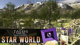 The Talos Principle: Road to Gehenna DLC - Part 9: Star World & Ending