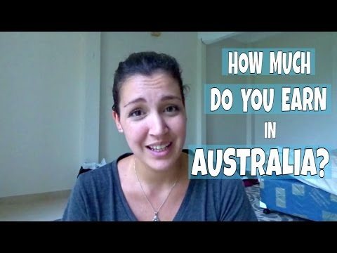 Travelling To AUSTRALIA - What's The Minimum Wage?