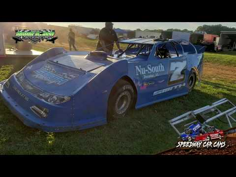 #7 Richard Smith - Super Late Model - 9-2-18 Duck River Raceway Park - In Car Camera