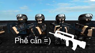 LES FORCES PHANTOM DE LA SDPN TRONG ?? - Roblox : Phantom Forces Vietnam #3 - Famas -)