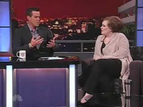 Adele on Carson Daly