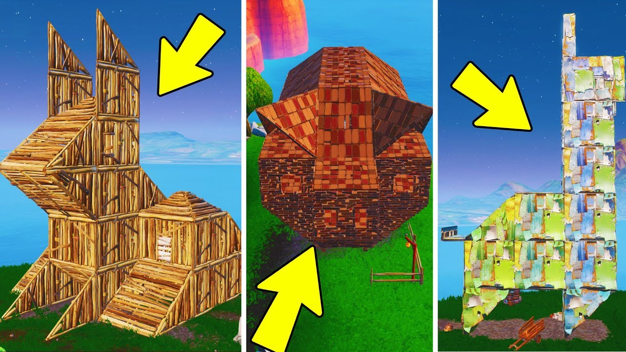 Visit A Wooden Rabbit A Stone Pig And A Metal Llama Location Fortnite Week 6 Challenges