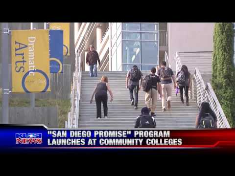 """KUSI-SD: """"San Diego Promise"""" Program Launches at Community Colleges"""
