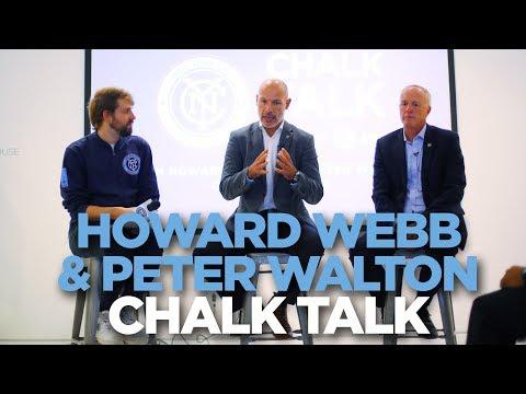 VAR, Man Utd bias & sleepless nights with Howard Webb & Peter Walton | Chalk Talk | 09.18.17