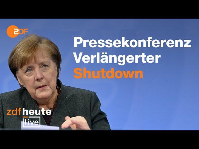 Merkel nach Corona-Gipfel: Welche Regeln kommen jetzt auf uns zu? | ZDFheute live