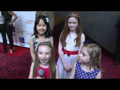 2013 Jimmy Awards  Advice from Lilla Crawford & ANNIE Orphans