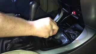 Toyota Land Cruiser Prado 120 замок кпп. Дополнительная защита от угона. Механический мультилок