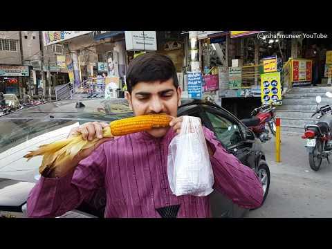 Corn Cob in Coal Ash | Kaeirii Walla Sittaa
