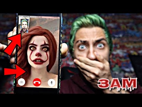 DO NOT FACETIME PENNYWISE GIRL FROM IT MOVIE AT 3AM!! *OMG SHE ACTUALLY CAME TO MY HOUSE*
