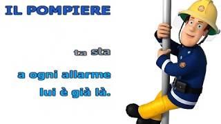 Sam il Pompiere - Sigla (SONG+TESTO SINCRONIZZATO)