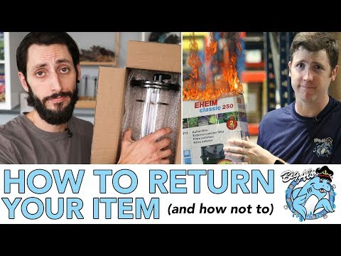 How to Return Your Item (and how NOT to) | BigAlsPets.com
