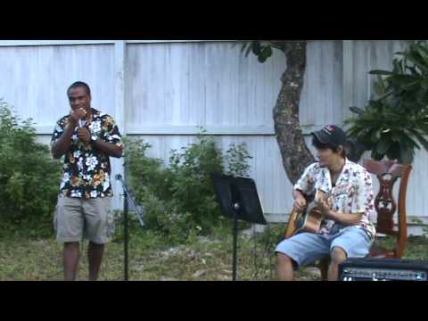 JiaLi's Ukulele Concert in Marshall Islands - Only one US Group
