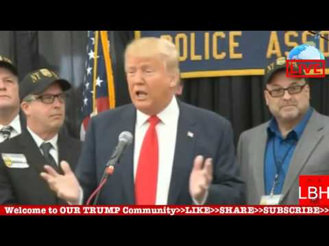 HighLight: Donald Trump Retired Police Endorsement from STATEN ISLAND, NY(4-17-16)TRUMP supporters