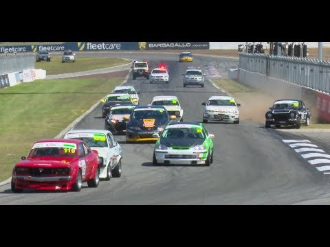 Improved Production Racing National Championship Under 2 Litre Final 2017 Perth Barbagallo Raceway