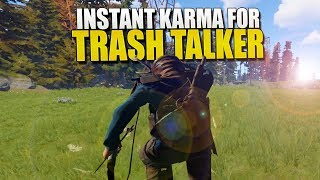 This Is Why You Should NEVER TRASH TALK (Rust Survival) #116
