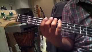 How to play reggae bass lesson 1 - Major scale