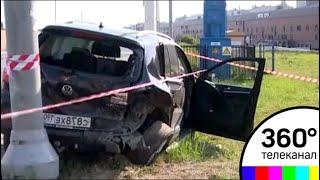 Смертельная авария с четырьмя машинами произошла в Москве