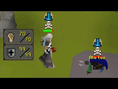 An account I've never pk'd on before in Runescape
