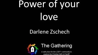Power of Your Love - Darlene Zschech (with lyrics)