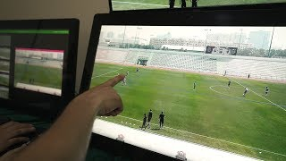 Video Assistant Referee (VAR): The Virtual Offside Line