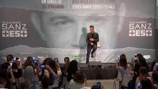 Alejandro Sanz presenta 'Más es más'