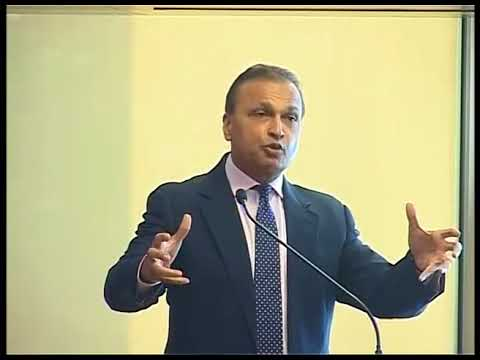 Reliance Group Chairman Anil D Ambani's Media Briefing on RCOM SDR Exit on 26 December 2017