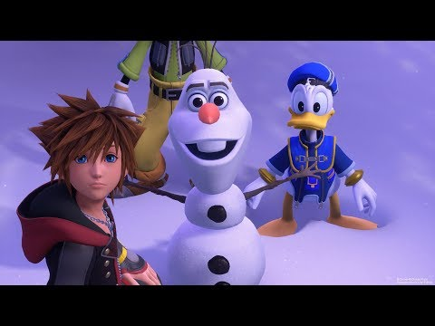 Kingdom Hearts 3 Frozen Reveal Trailer - E3 3018