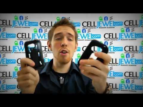 CellJewel.com - HTC Desire C /Wildfire C /Golf Black Hybrid Case