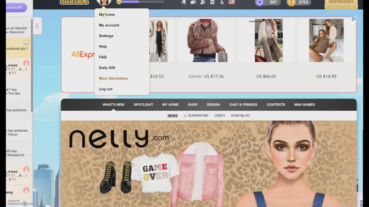 How to get free stuff on stardoll: 9 steps (with pictures).