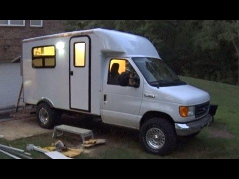 Box Truck Camper Jump Seat install fail 53