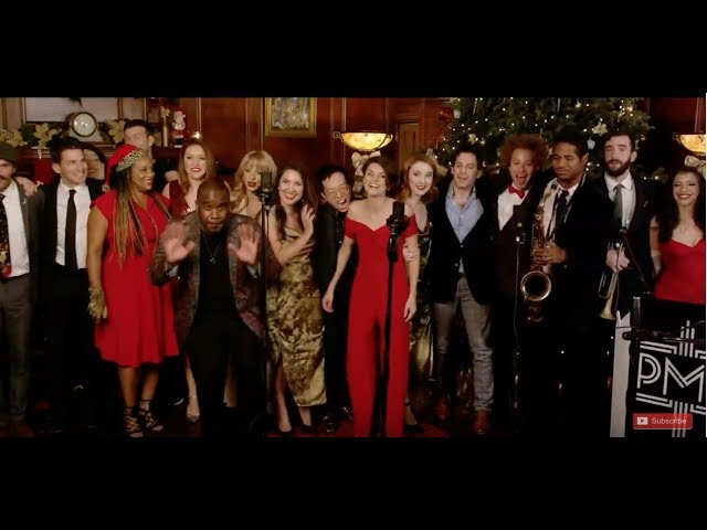 Postmodern Jukebox Interactive Christmas Special LIVE at PMJ Manor!