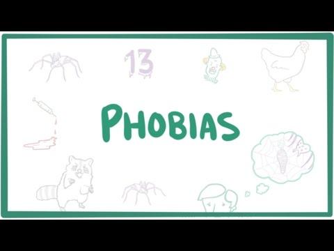 Phobias - specific phobias, agoraphobia, & social phobia