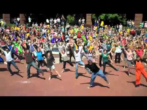 Harding University Spring Sing Flash Mob