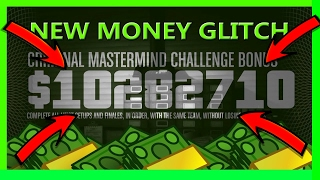 GTA 5 Best Money Glitch Ever And Still Working Online (Criminal Mastermind And Pacific Standard)