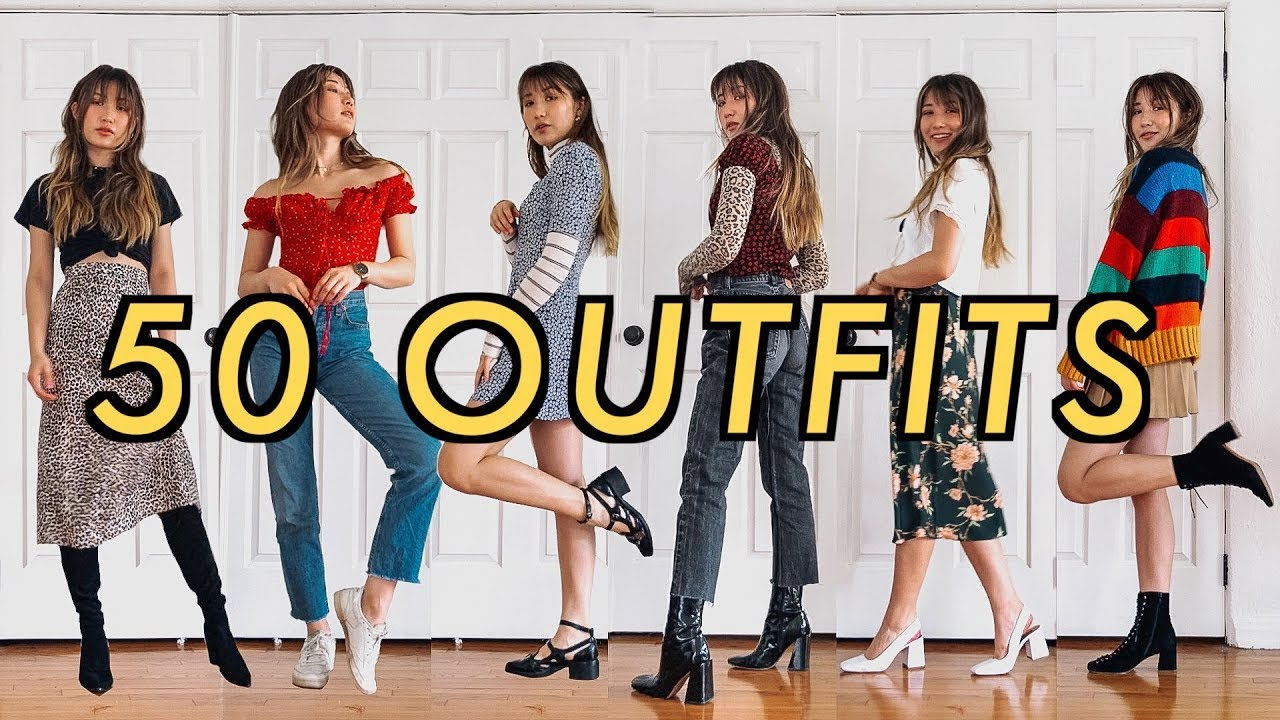 00677b658c3 50 OUTFITS for when you have nothing to wear - YouTube