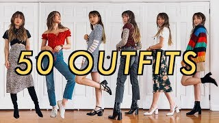 50 OUTFITS for wнen you have nothing to wear