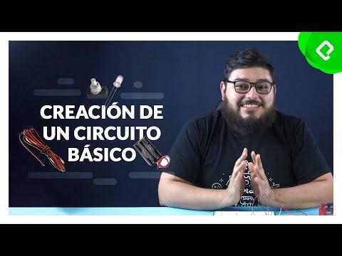 Cómo se crea un circuito básico