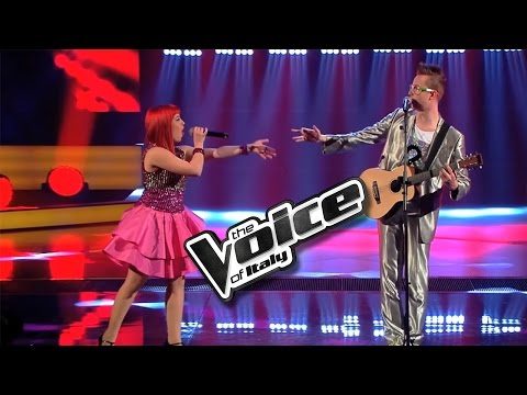 IWolf: Rock'n'Roll Robot | The Voice Of Italy 2016: Knock Out