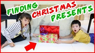 2018 Christmas Scavenger Hunt - Brianna Vs. Skyler Try to Find their Presents
