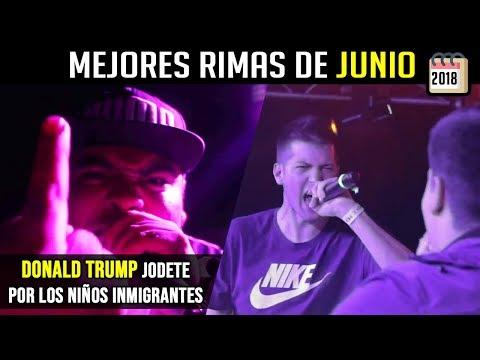 RIMAS que PARARON el MES !! Junio 2018 ¡BATALLONES! | Batallas de Gallos