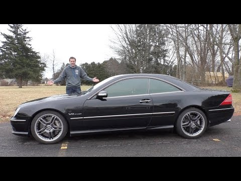 This V12 Mercedes CL65 AMG Is an Insane 30,000 Used Car